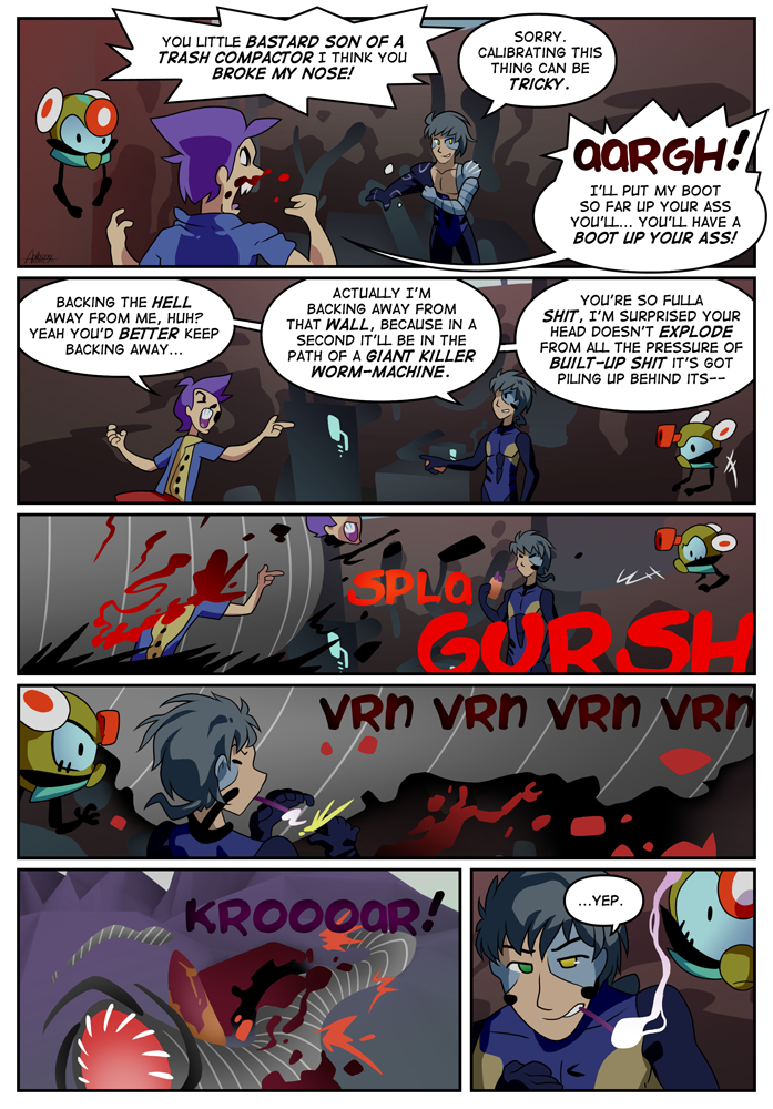 Outskirt Chasers: Page 5