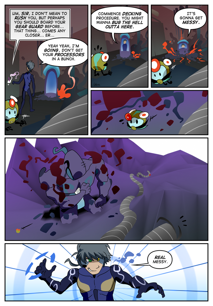 Outskirt Chasers: Page 6