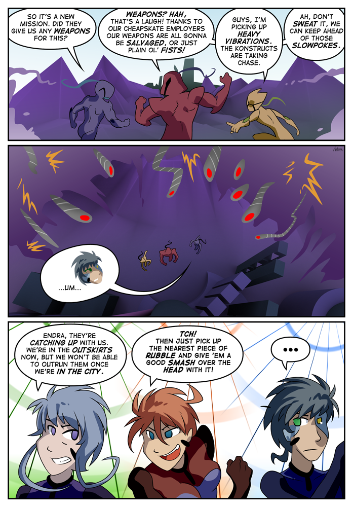 Outskirt Chasers: Page 9