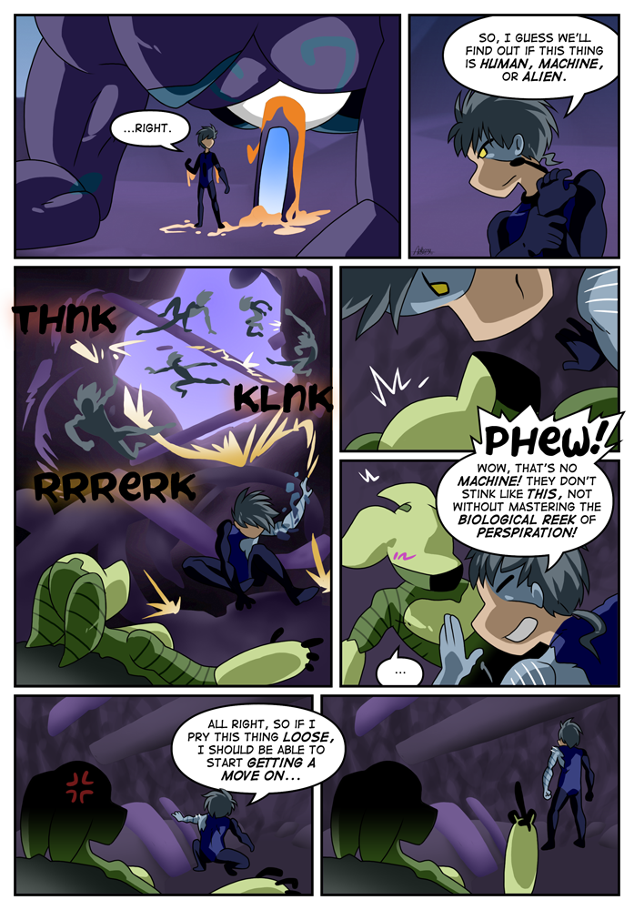 Outskirt Chasers: Page 22