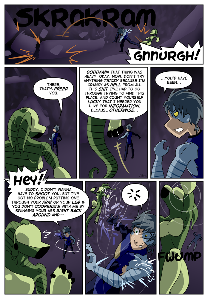 Outskirt Chasers: Page 23