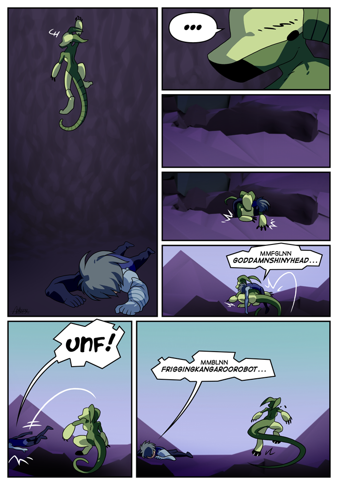Outskirt Chasers: Page 24