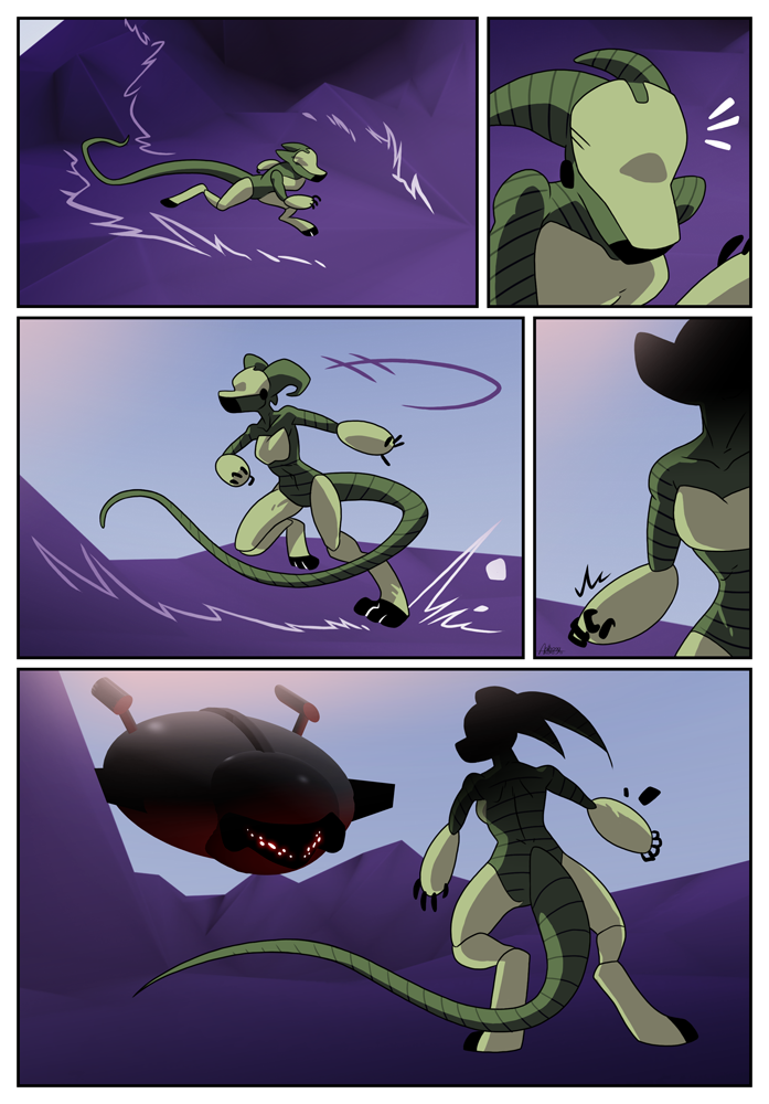 Outskirt Chasers: Page 25